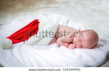 gift from Santa Claus - stock photo