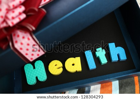 Gift of Health - stock photo
