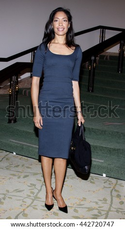 Gina Torres at the Essence Black Women in Hollywood Luncheon held at the Beverly Hills Hotel in Beverly Hills, USA on February 19, 2009. - stock photo