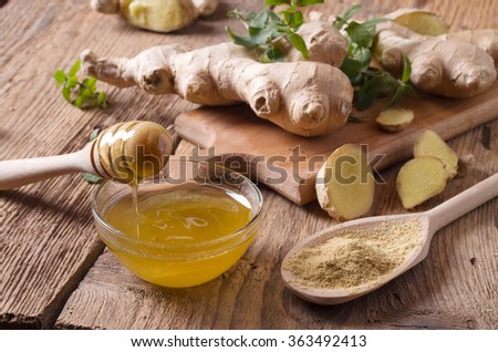 ginger spice - stock photo