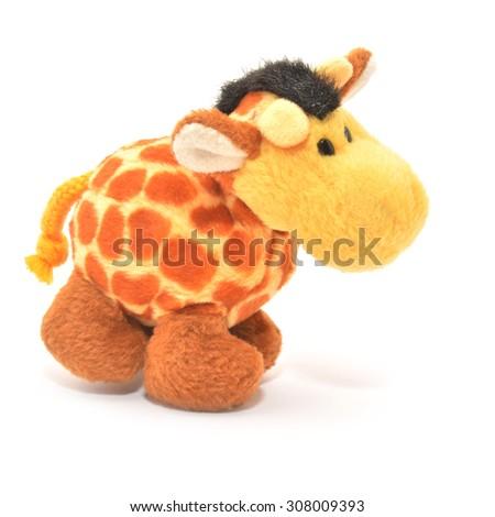 giraffe  toy   - stock photo