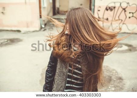 girl photoshoot - stock photo
