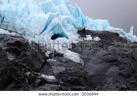 Glacier, Alaska - stock photo