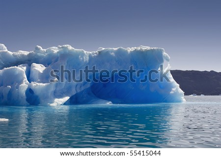 Glaciers and icebergs of Greenland 3 - stock photo