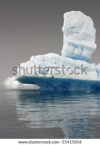 Glaciers and icebergs of Greenland 7 - stock photo