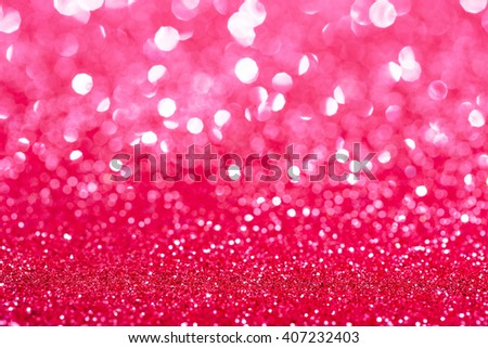 Glamour sparkling background. Blured glitter background with blinking stars. Holiday abstract texture. - stock photo