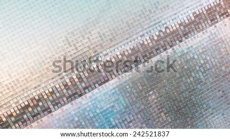 Glare film on window,background. - stock photo