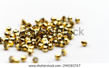 Glass beads - stock photo