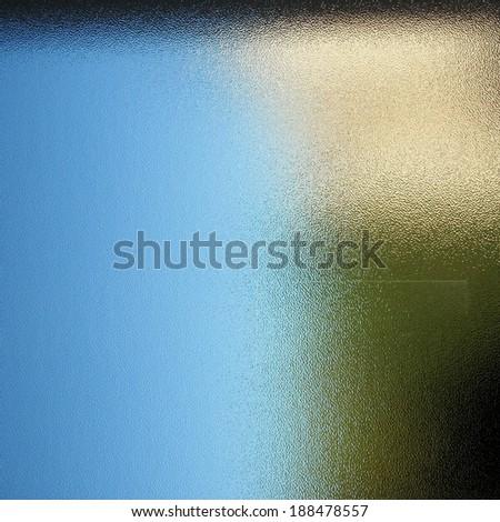 Glass blue texture - stock photo