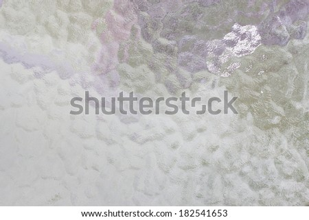 Glass blurred background - stock photo