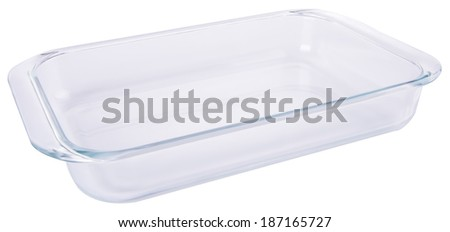 glass bowl on the background - stock photo