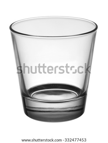 glass for whiskey - stock photo