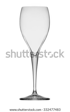 glass for wine - stock photo