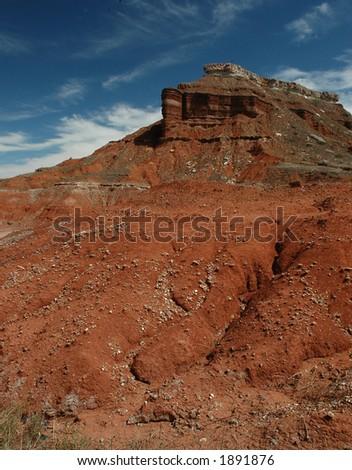 Glass Mountains Oklahoma - stock photo