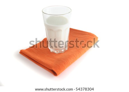 glass of milk - stock photo