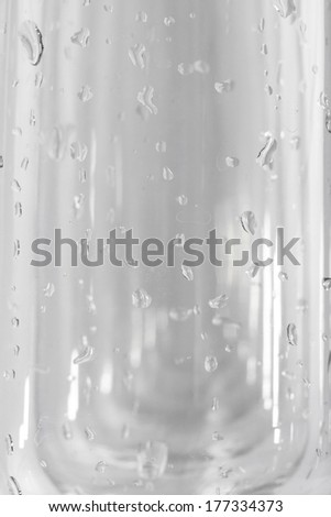 glass on the white background - stock photo