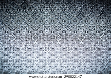 glass pattern - stock photo