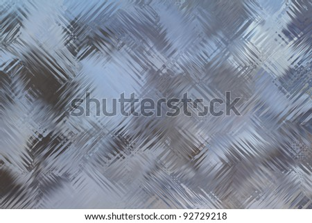 glass wall surface texture - stock photo