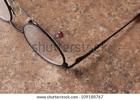 Glasses 2 - stock photo