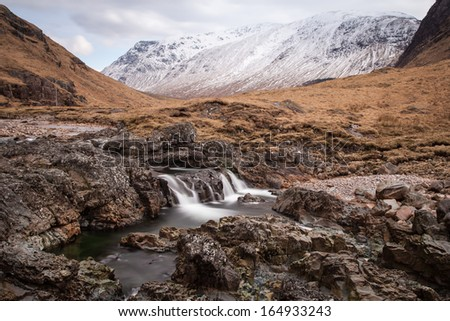Glen Etive - stock photo