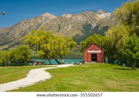 Glenorchy, New Zealand - stock photo