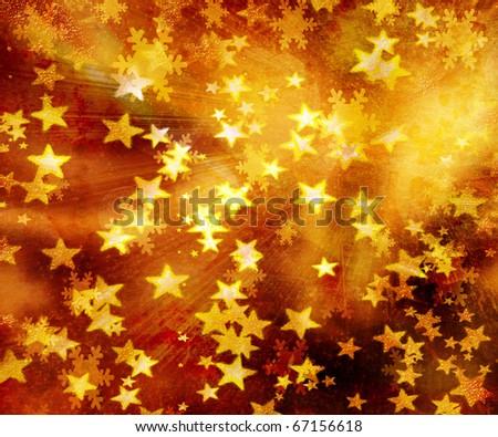 glitter - stock photo