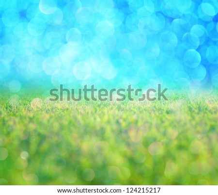 glitter abstract background - stock photo