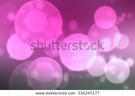 glitter bokeh lights background. light white and pink. defocused.  - stock photo