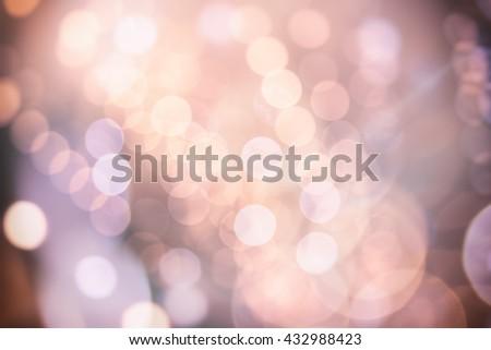 glitter bokeh lights bokeh defocused as background image - stock photo