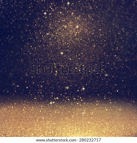 glitter  lights background. defocused. - stock photo