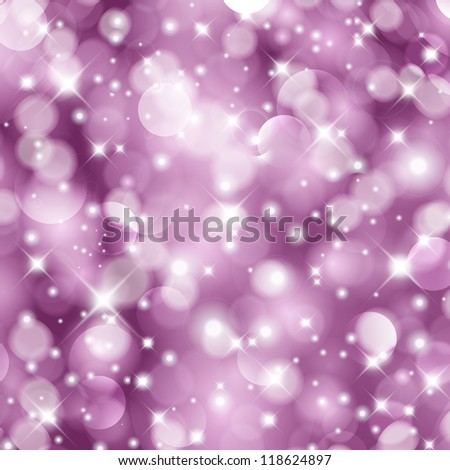 Glittery Christmas background. For vector version, see my portfolio. - stock photo