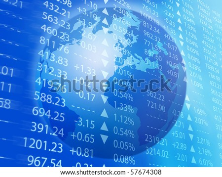 global business - stock photo