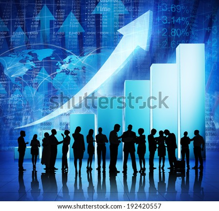 Global Business Meeting - stock photo