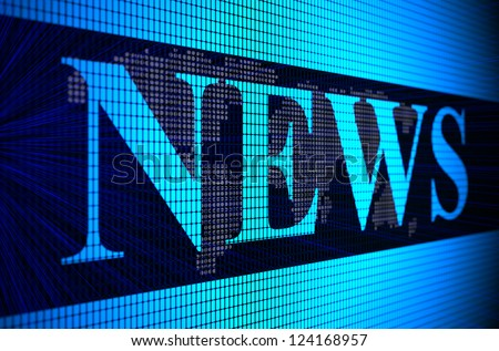 Global business News concept - stock photo