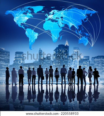 Global Business Team - stock photo