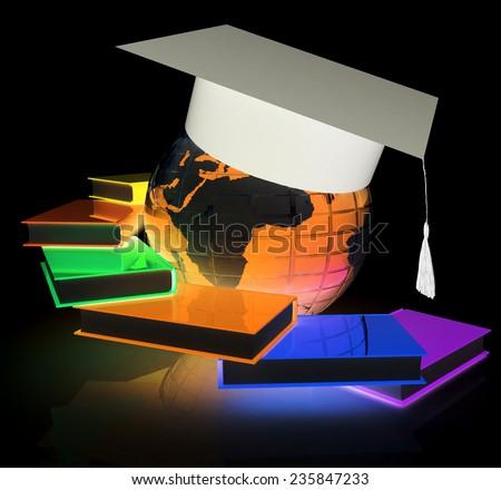Global Education - stock photo