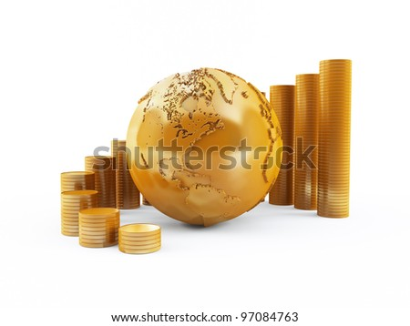 Global finance - stock photo