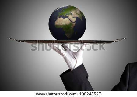 Global Player - stock photo