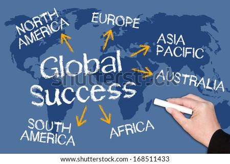 Global Success - stock photo