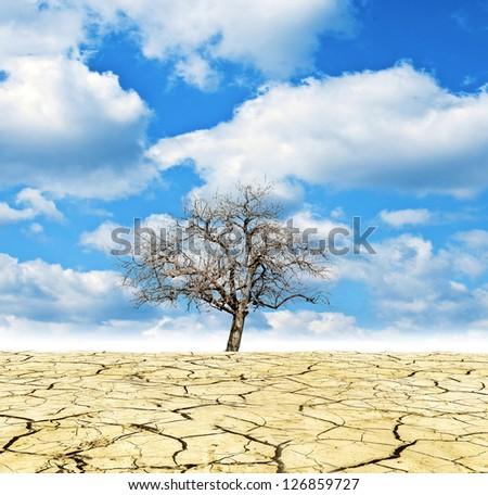Global Warming conceptual image - stock photo