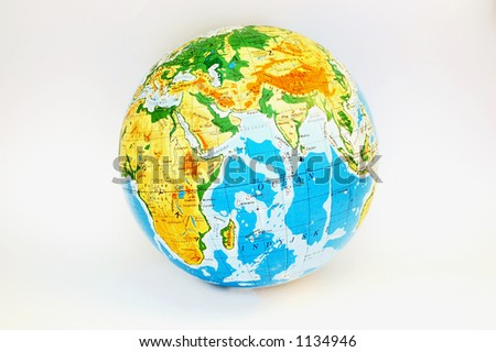 globe #2 - stock photo