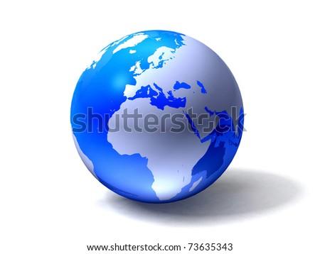 Globe - stock photo