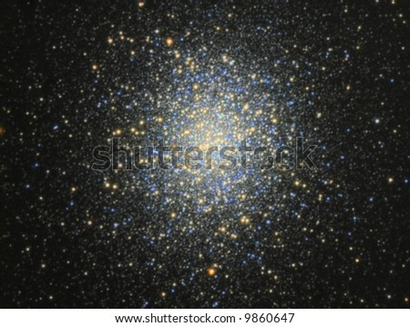 Globular Cluster M13 - stock photo