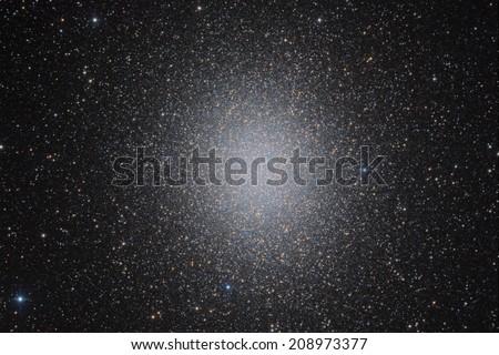 Globular Cluster Omega Centauri - stock photo
