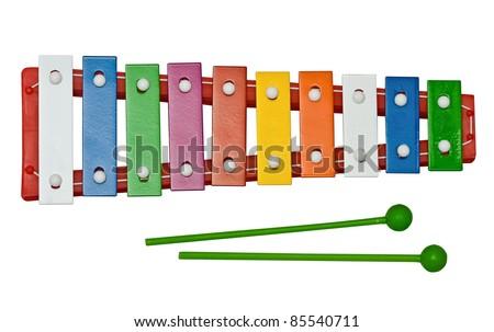 glockenspiel - stock photo