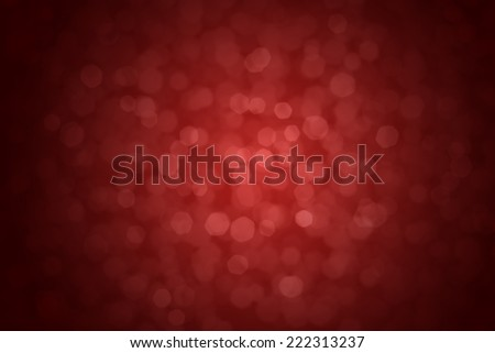 Glowing abstract defocused lights red background  - stock photo