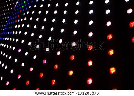 Glowing background with a neon  - stock photo