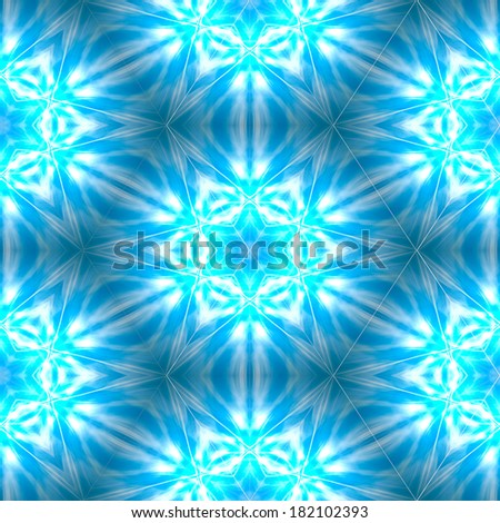 Glowing blue abstract colorful wallpaper background - stock photo