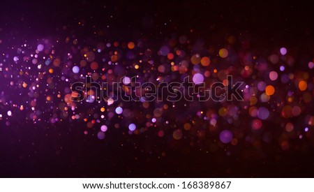 glowing bokeh background - stock photo