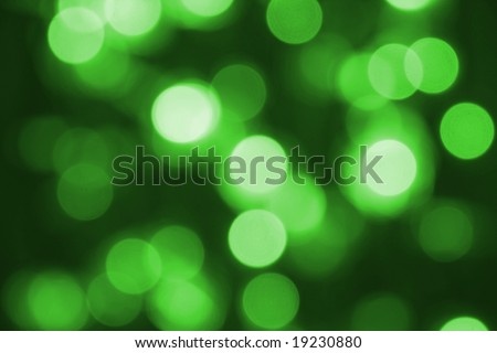 Glowing Christmas light as background - stock photo